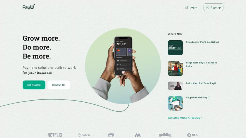PayUMoney Landing Page