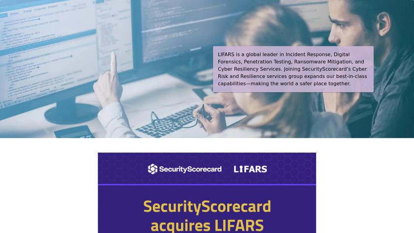 LIFARS Landing Page