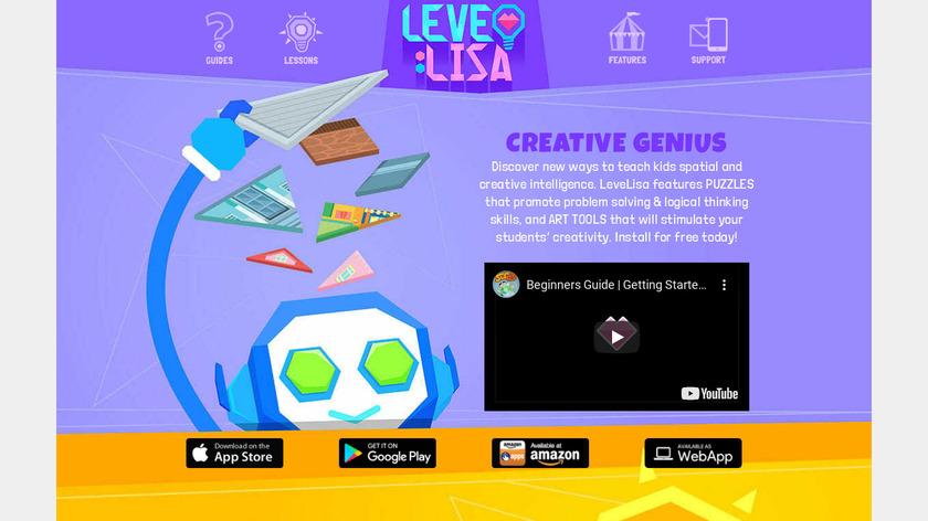 LeveLisa Landing Page