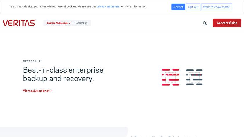 NetBackup Landing Page