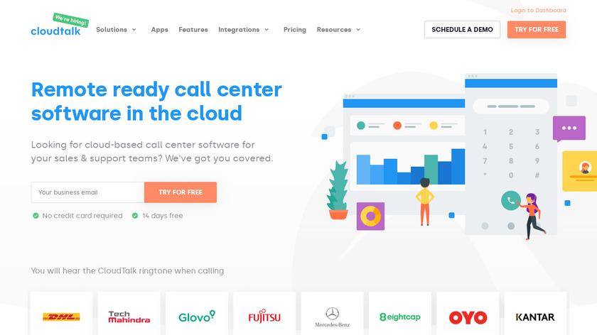 CloudTalk Landing Page