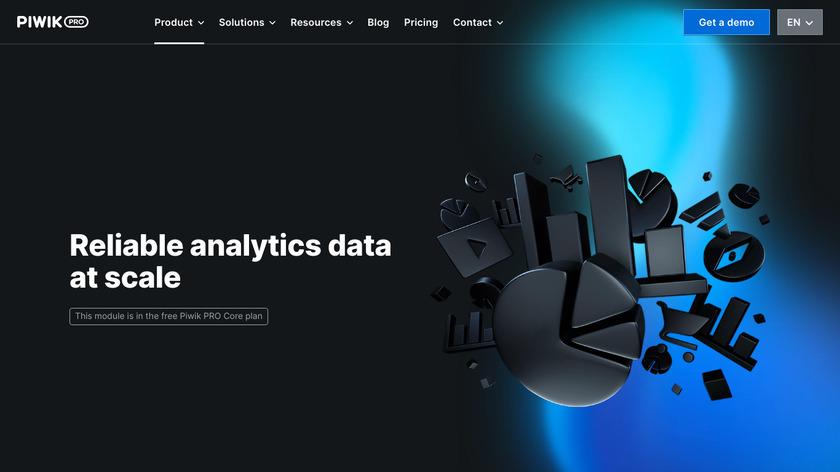 Piwik PRO Analytics Landing Page
