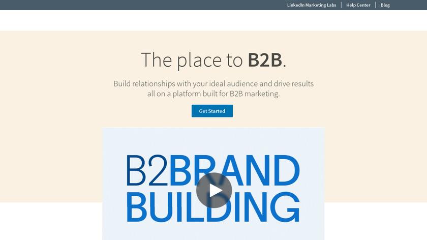 LinkedIn Marketing Solutions Landing Page