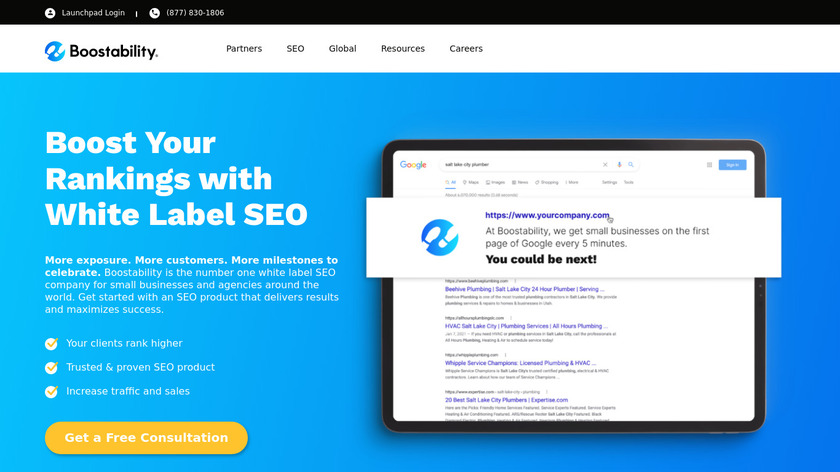 Boostability Inc Landing Page