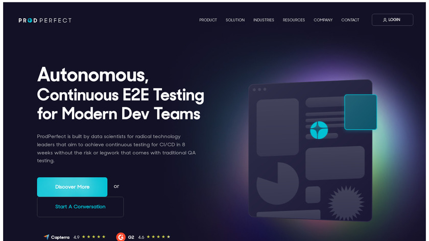 ProdPerfect Landing Page