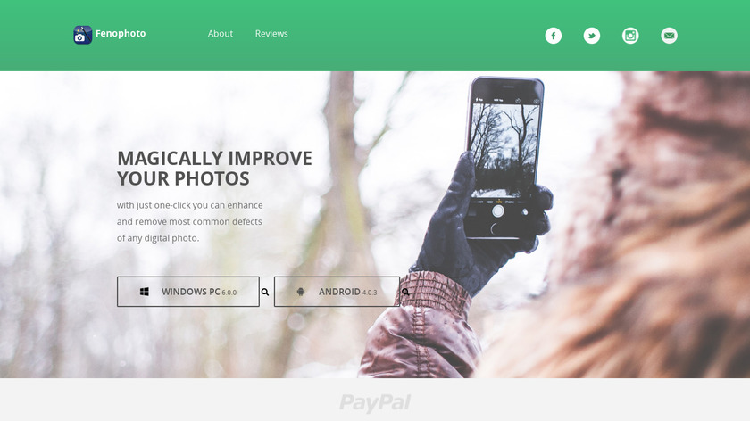 FenoPhoto Landing Page