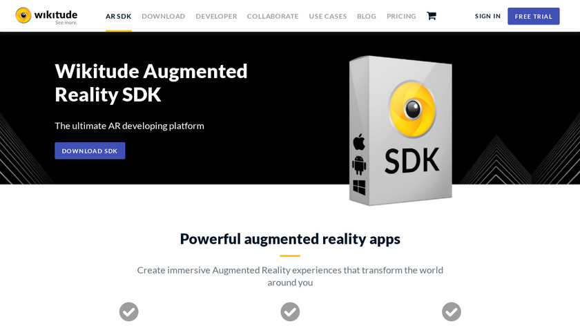 Wikitude SDK Landing Page