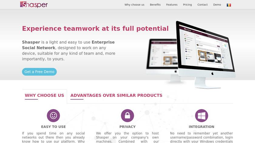 Shasper Landing Page