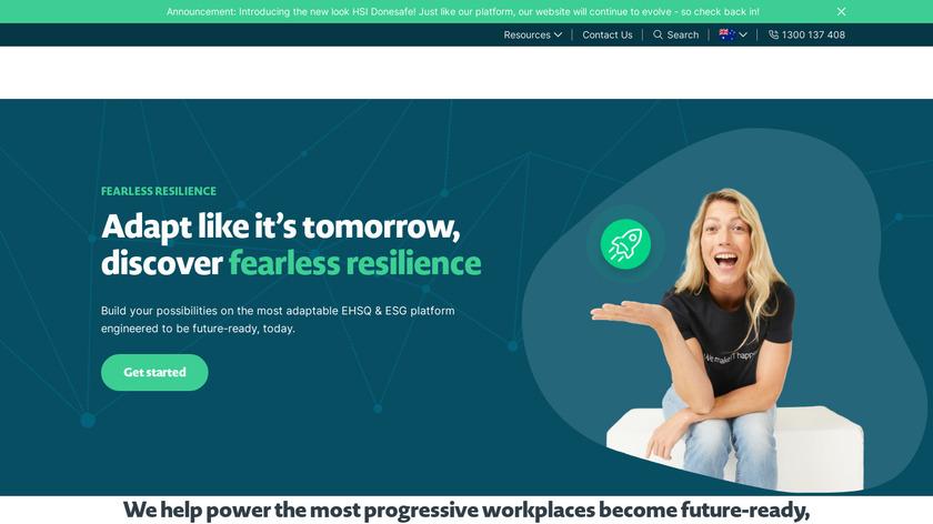 Donesafe Landing Page