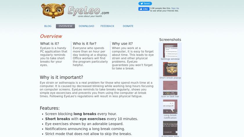 Eyeleo Landing Page