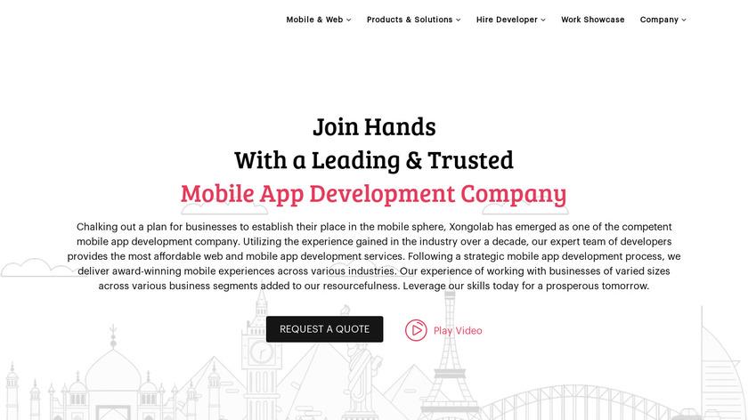 XongoLab Technologies Landing Page