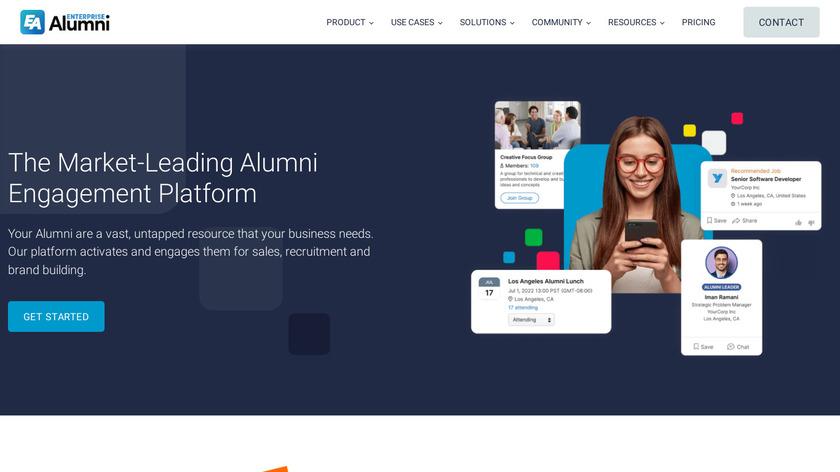 EnterpriseAlumni Landing Page
