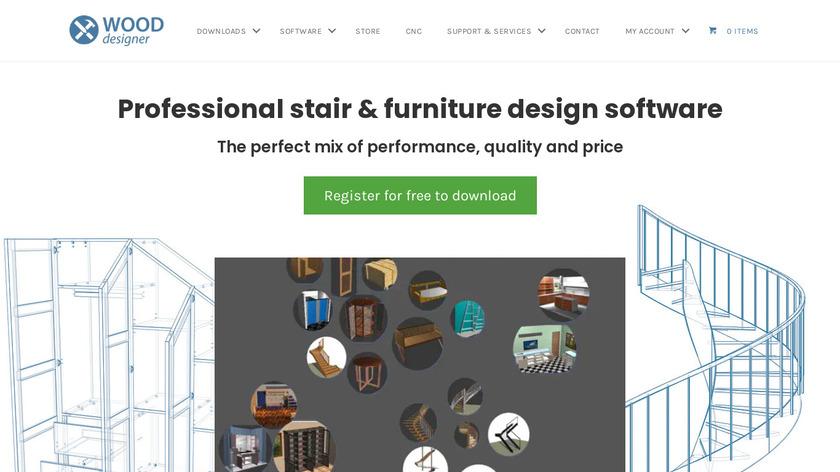 StairDesigner Landing Page