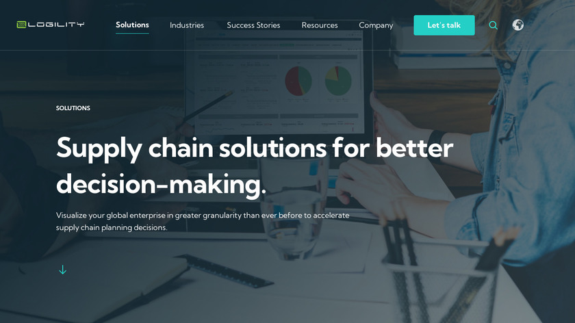 Logility Voyager Solutions Landing Page