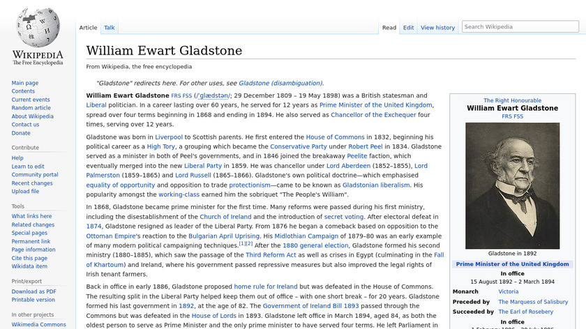 Gladstone Landing Page