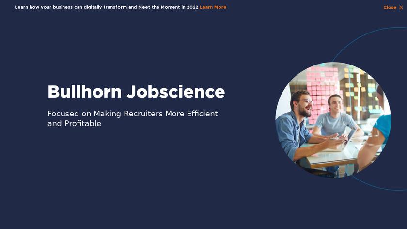 JobScience Landing Page