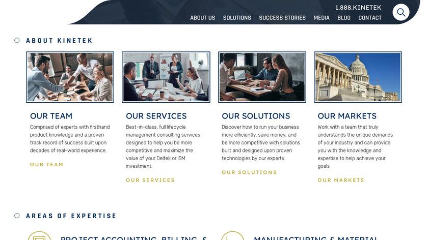 Kinetik Consulting LLC Landing Page