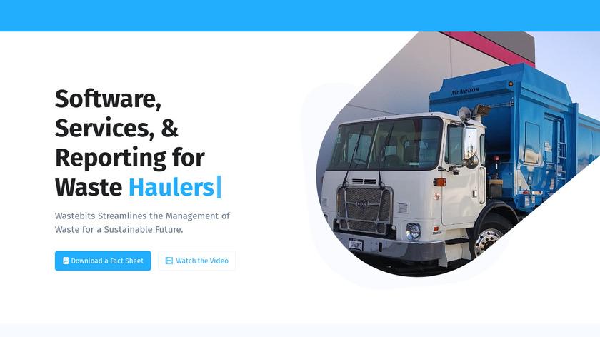 Wastebits Landing Page