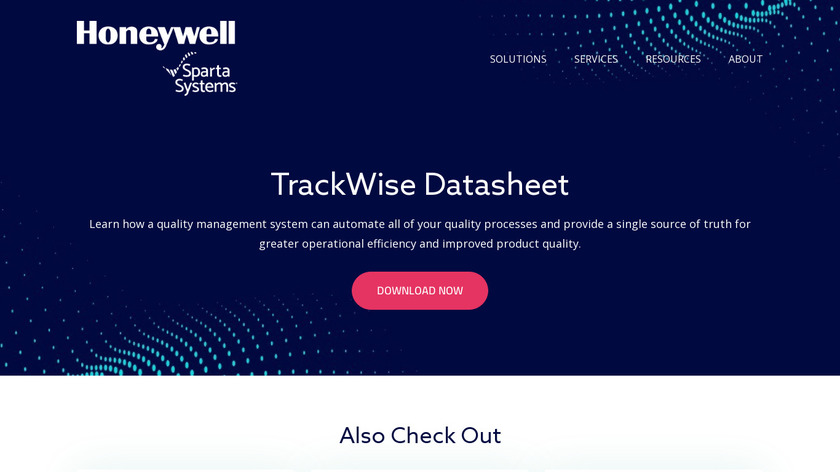 TrackWise Enterprise Quality Management Software Landing Page