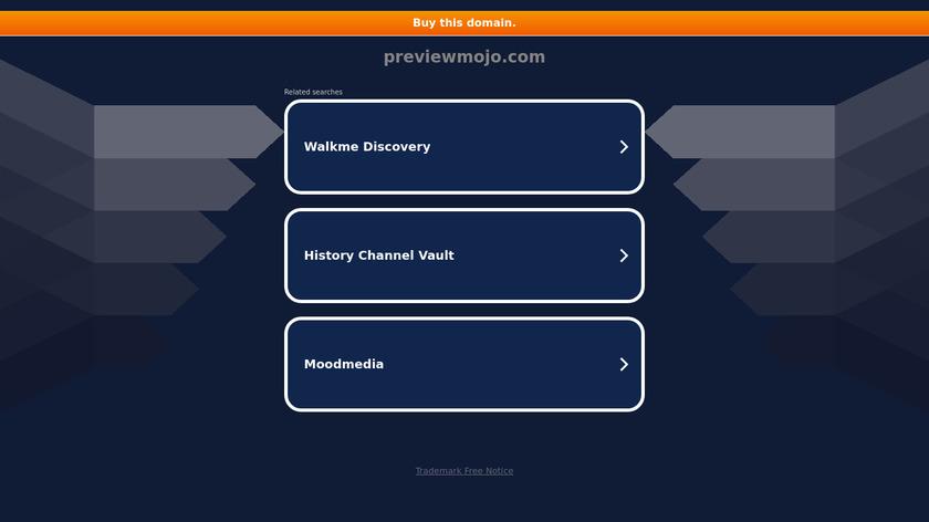 Previewmojo Landing Page