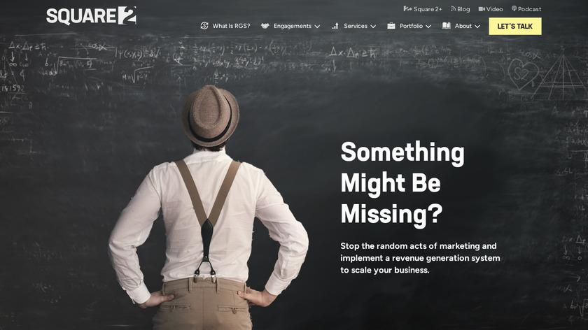 Square 2 Marketing Landing Page