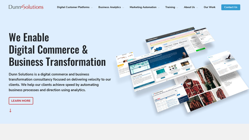 Dunn Solutions Group Landing Page
