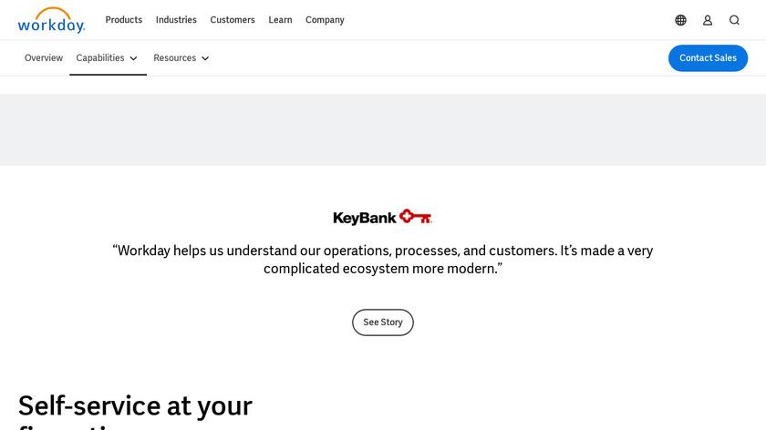 Workday Prism Analytics Landing Page