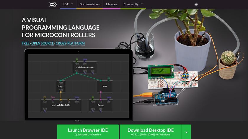 XOD Landing Page