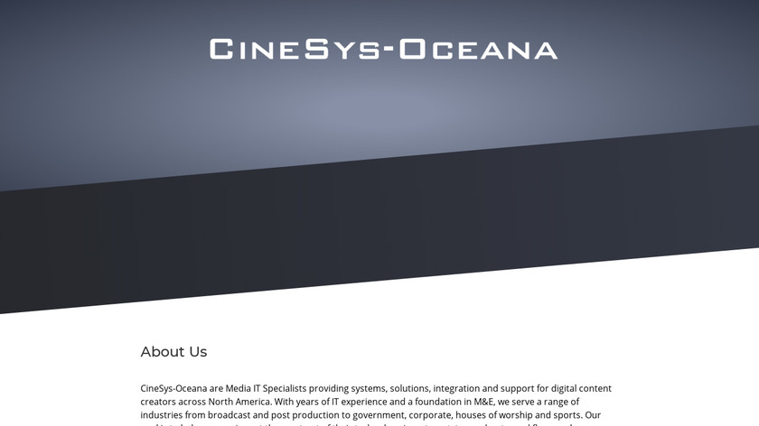 Cinesys-Oceana Landing Page