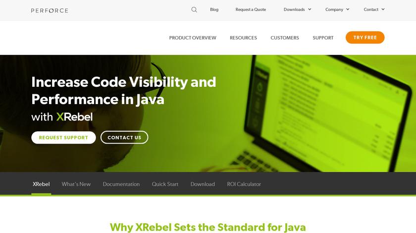 XRebel Landing Page