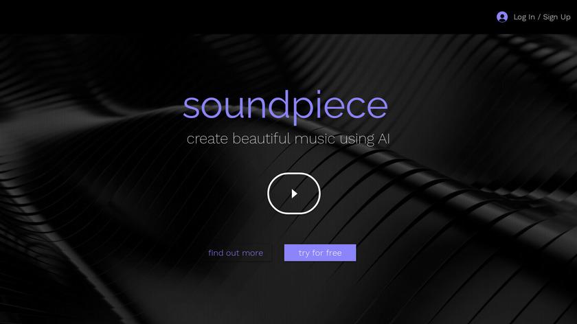 soundpiece Landing Page