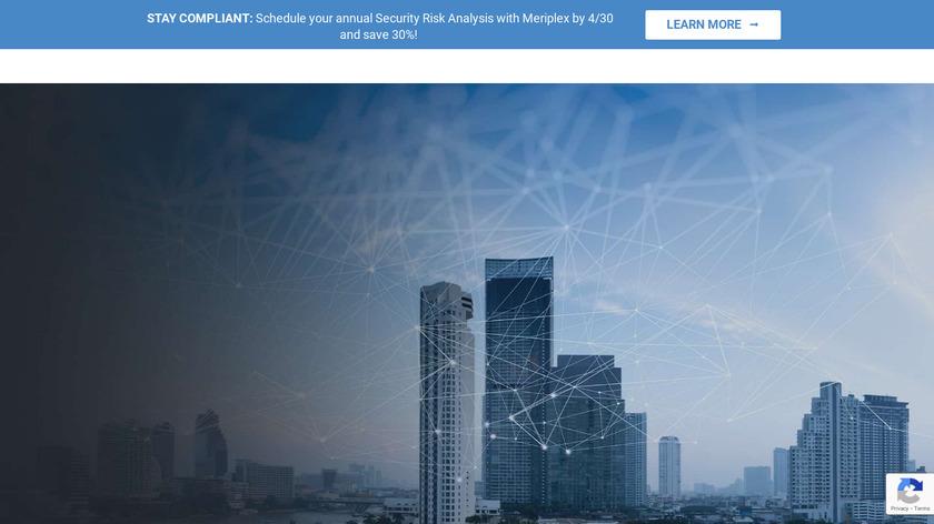 Meriplex Landing Page