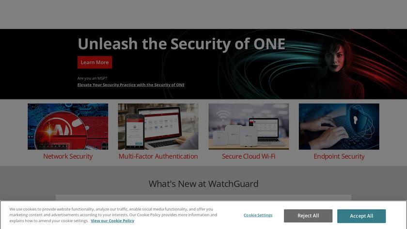WatchGuard Landing Page