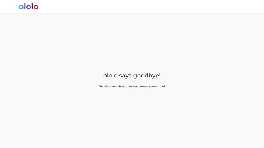 ololo.to Landing Page