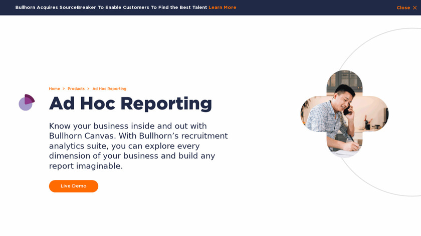 Bullhorn Canvas Landing Page