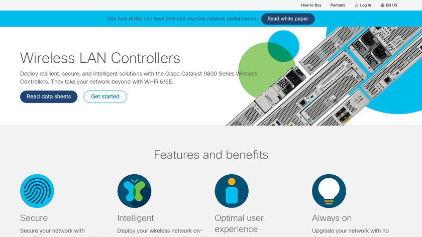 Cisco Wireless LAN Controllers Landing Page