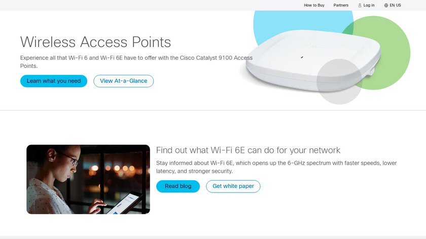 Cisco Aironet Access Points Landing Page