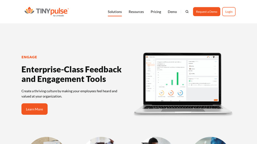 TINYpulse Engage Landing Page