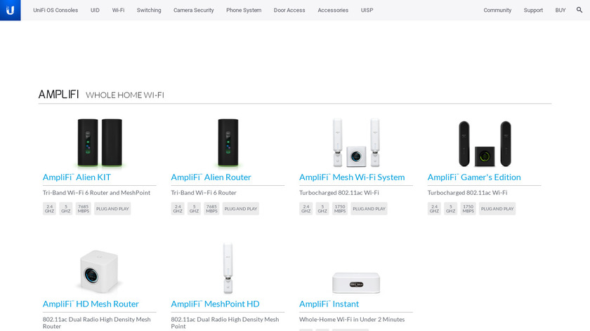 Ubiquiti Wireless WAN Landing Page