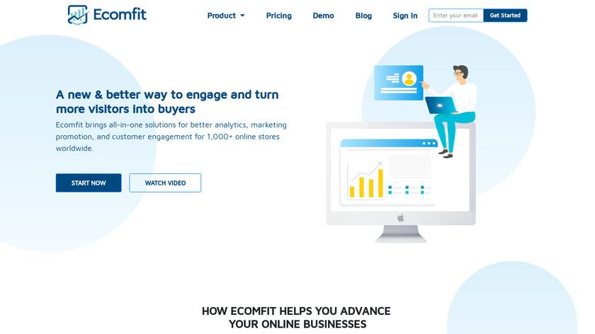 Ecomfit Landing Page
