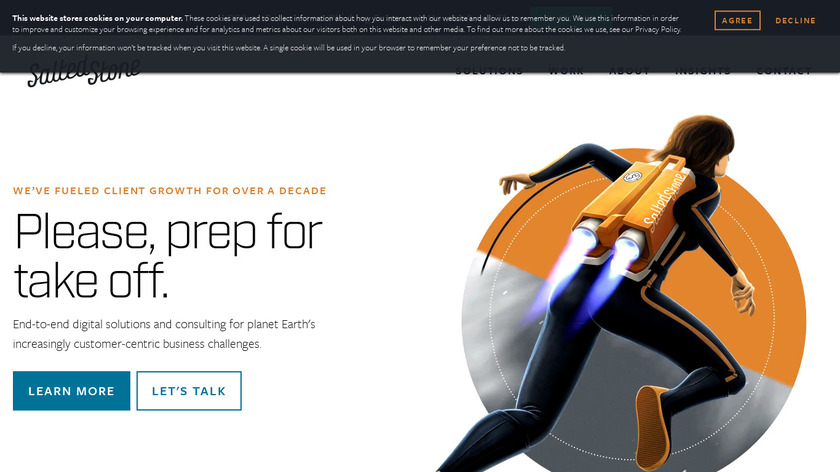 Salted Stone Landing Page