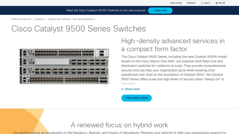 Cisco Catalyst Switches Landing Page