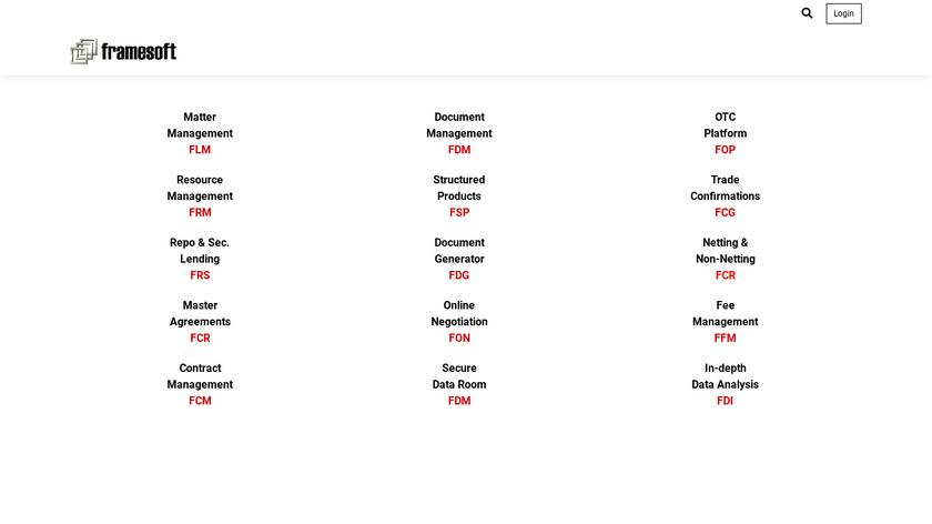 FDM Platform Landing Page