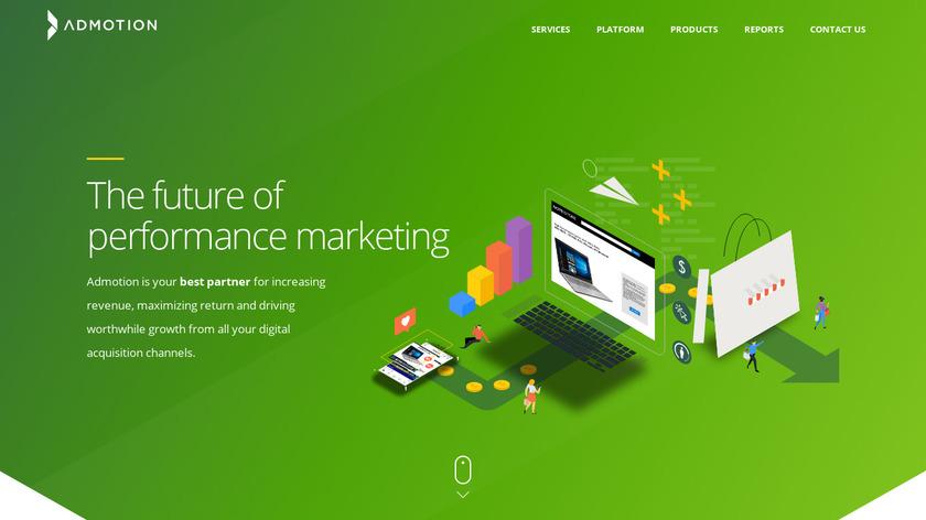 Admotion Landing Page