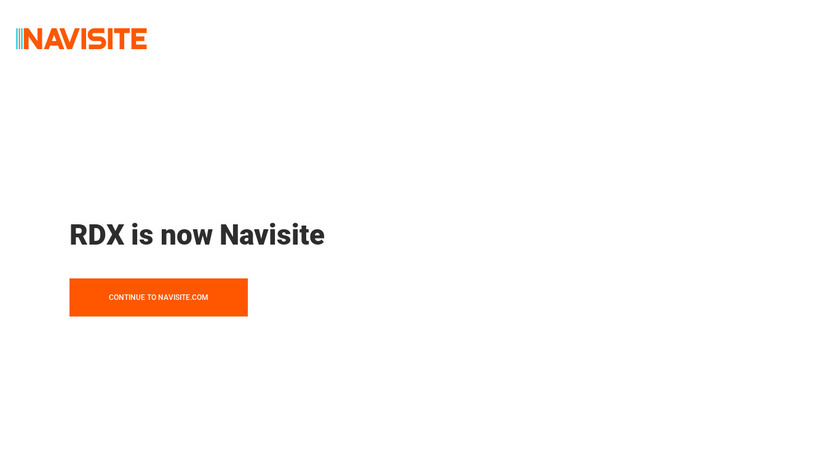 RDX Managed Services Landing Page
