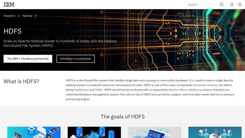 Hadoop HDFS Landing Page