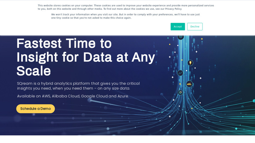 SQream Landing Page