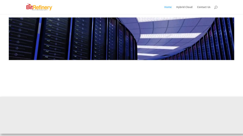 BitRefiney Landing Page