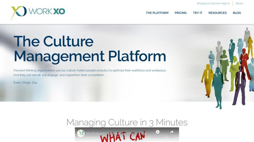 WorkXO Landing Page