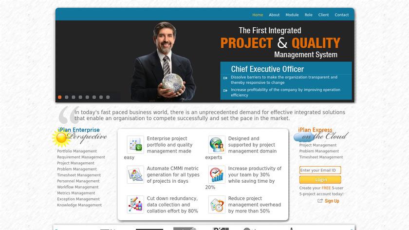 iPlan Landing Page